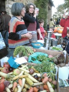 Stand jus de légumes bios