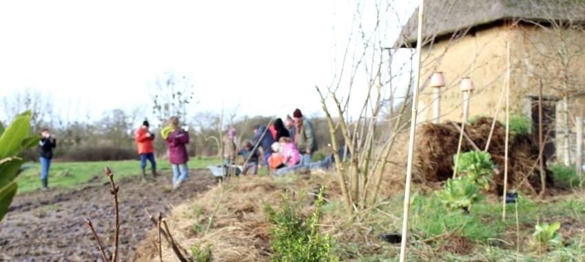 «Plante un arbre» à la Maison des marais